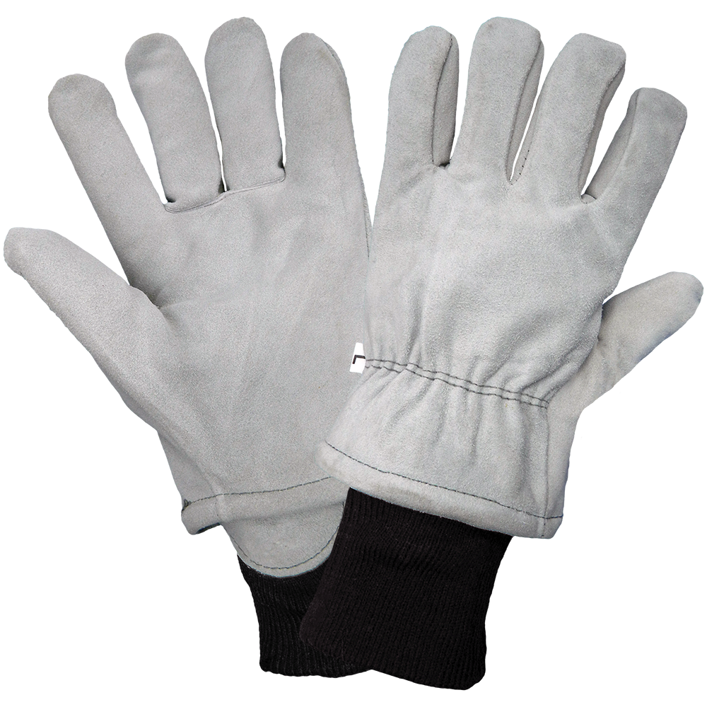 Split Leather Insulated Freezer Gloves | Pack of 12 | 2800F