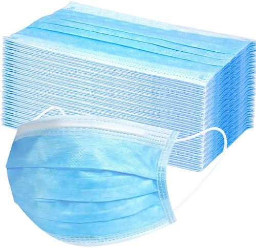 03-04-03629 Disposable 3-ply Face Mask with Ear-loops - pk/50