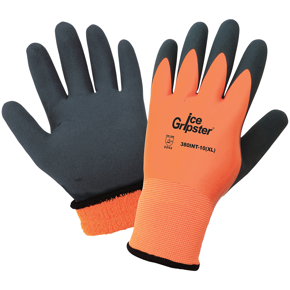 Ice Gripster Double Dipped Gloves with Grip | Pack of 12 | 380INT