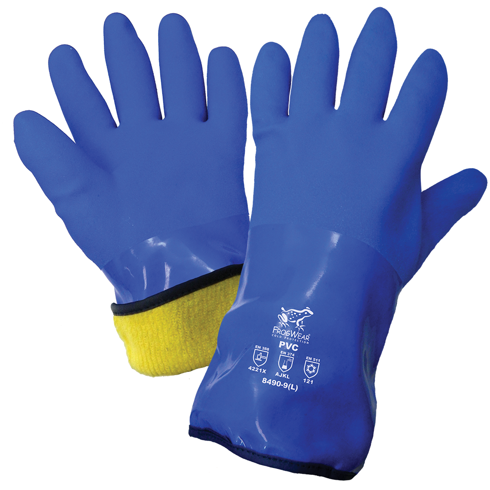 Low Temperature Freezer Gloves | Pack of 12 | 8490