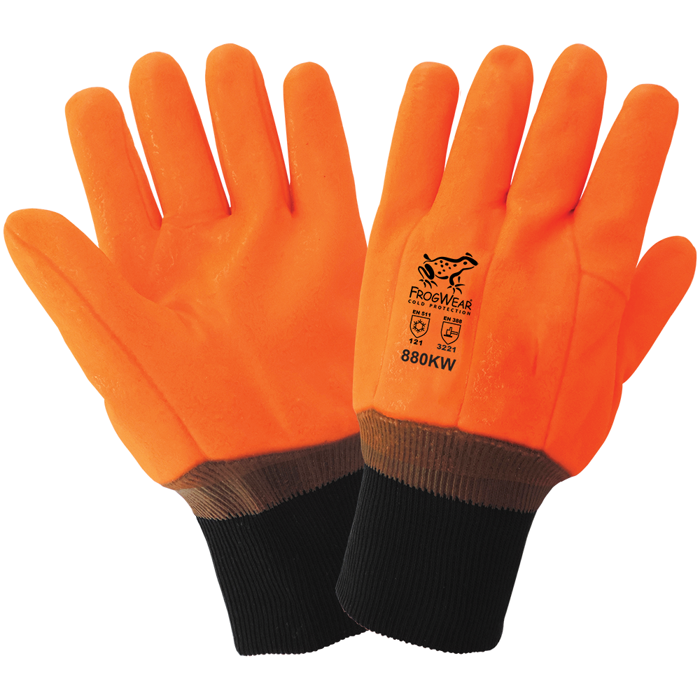 High-Visibility Low Temperature Gloves | Pack of 12 | 880KW-XL