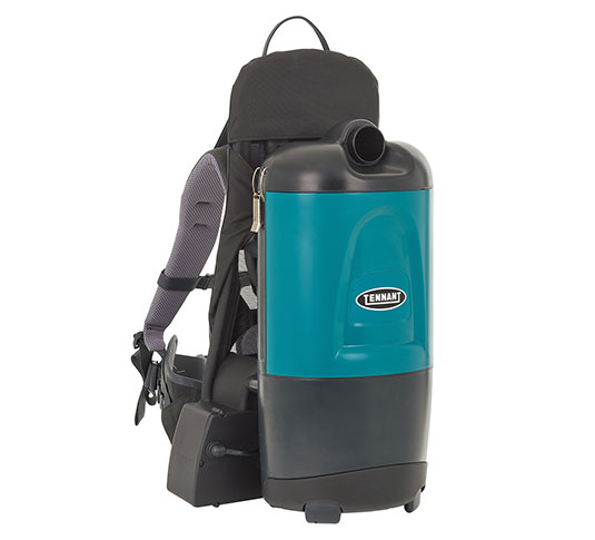9017568 Aspen 6B 6-Quart Battery Backpack Vacuum