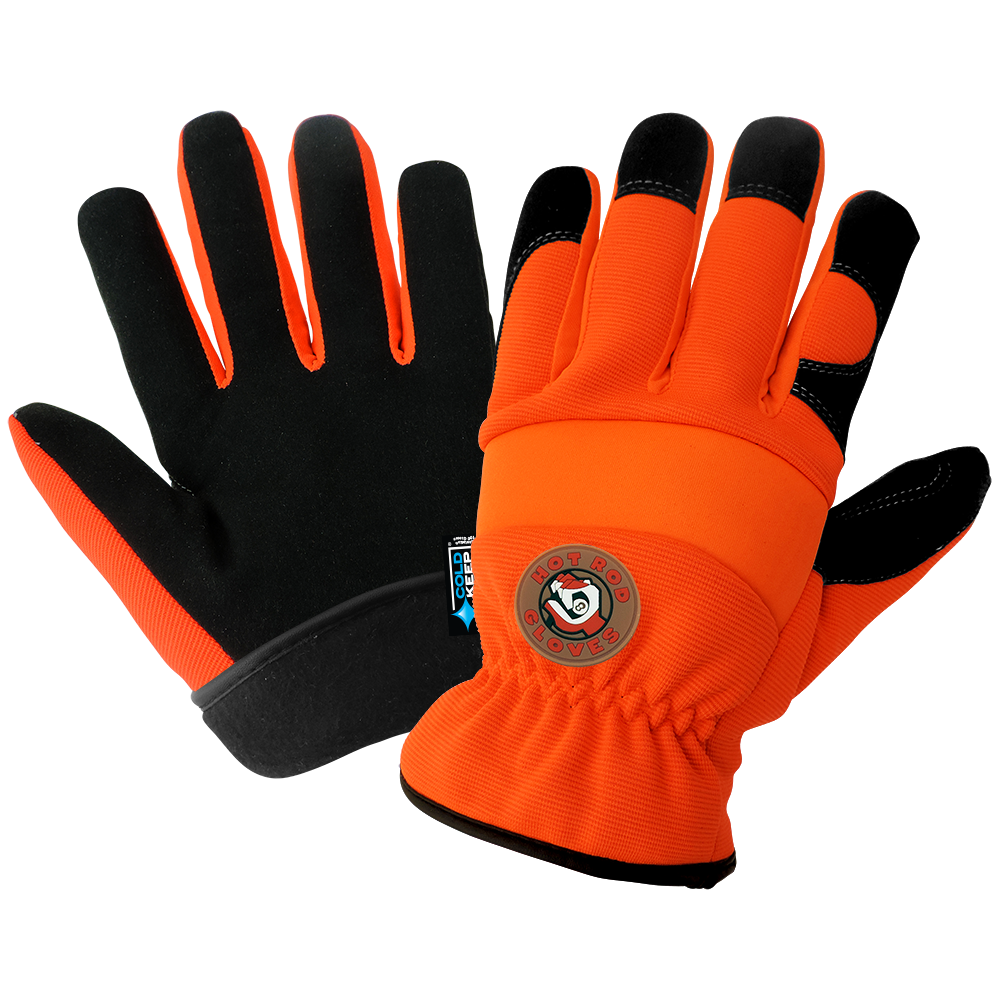 Hot Rod Insulated Waterproof Gloves | Pack of 12 | HR3222INT
