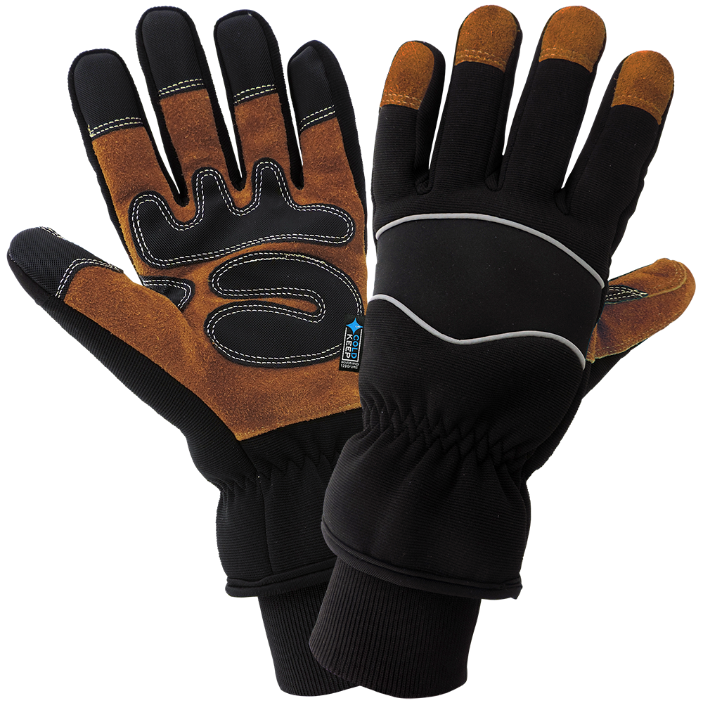 Split Cow Palm Insulated Gloves | Pack of 12 | SG5200INT