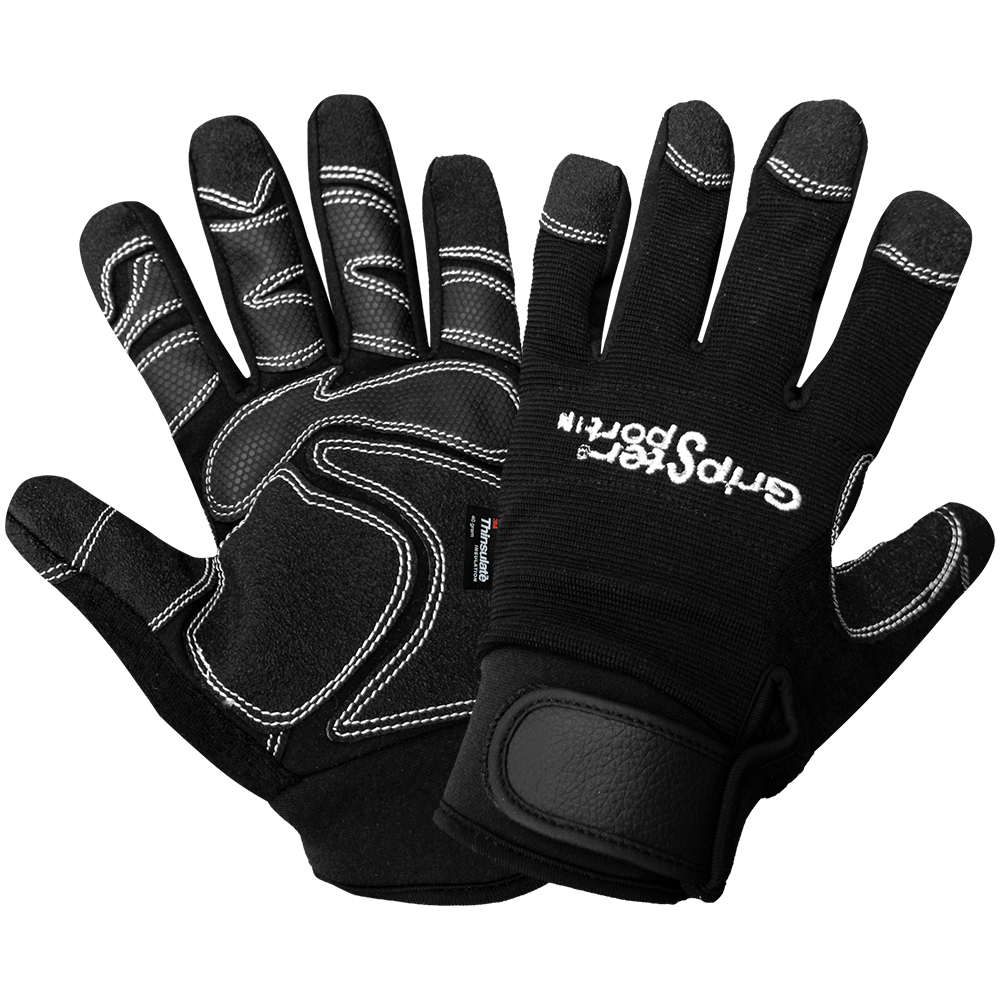 Gripster Leather Insulated Gloves | Pack of 12 | SG9001IN