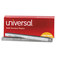 UNV79000 Standard Chisel Point 210 Strip Count Staples