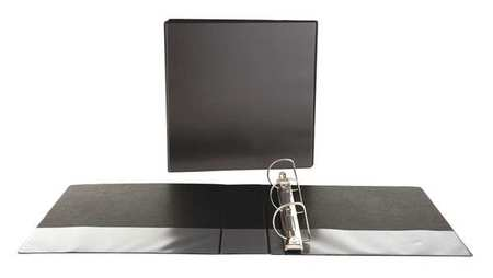 UNV20745 D-Ring Economy View Binder-Black - ea